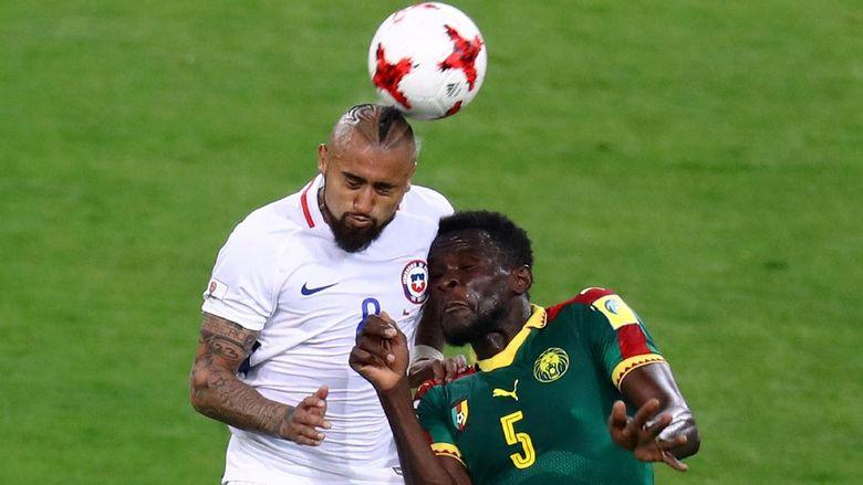 Chile Bungkam Kamerun 2-0