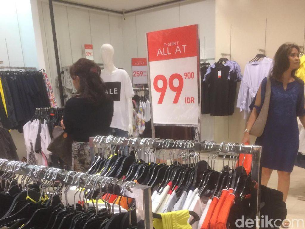 Zara Diskon Hingga 50%, T-shirt Mulai dari Rp 99 Ribu