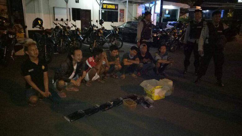 7 Pemuda Pesta Miras di Bekasi Diamankan Tim Patriot