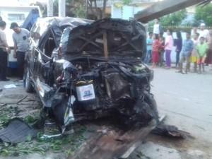 Kabur dari LP Tanjung Gusta, 2 Napi Dijemput Mobil dan Tabrak Rumah