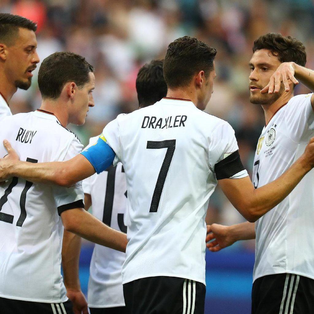 Loew Peringatkan Jerman: Chile Beda Level dengan Australia