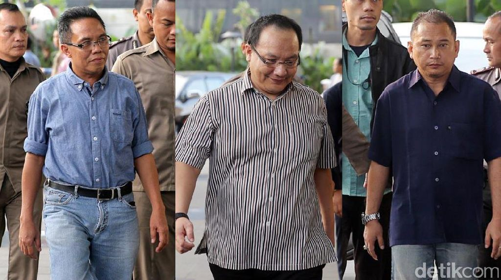 Trio Penyuap Gubernur Bengkulu juga Diciduk KPK