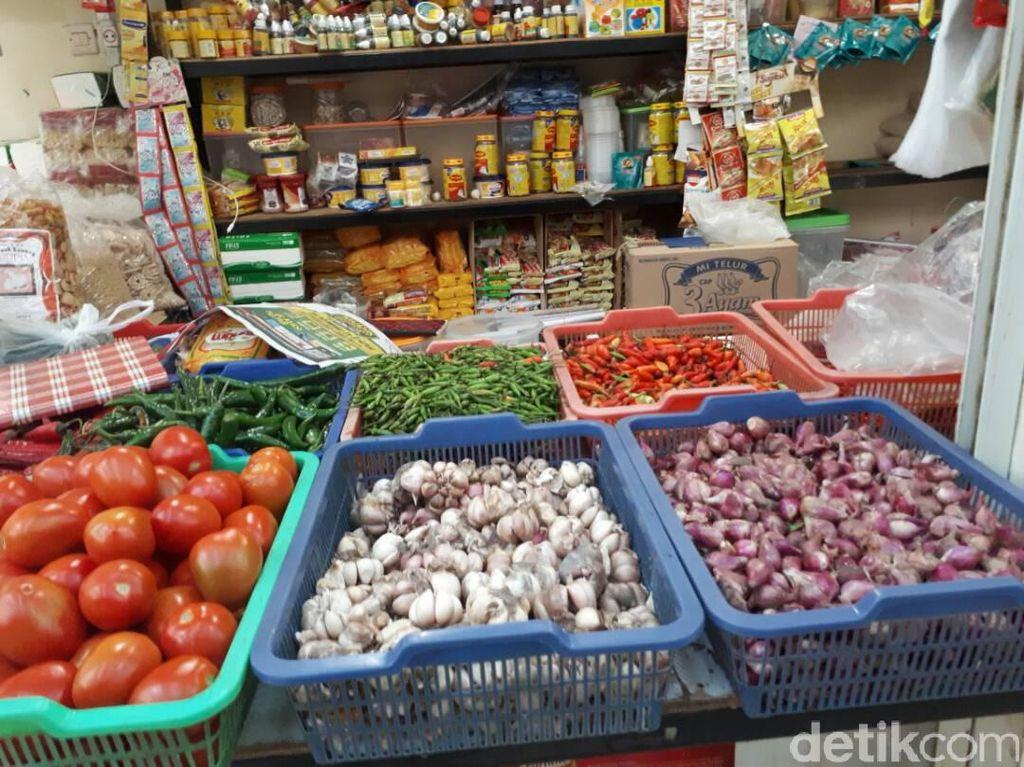 Duet Bawang Merah dan Bawang Putih Bikin April Inflasi 0,44%