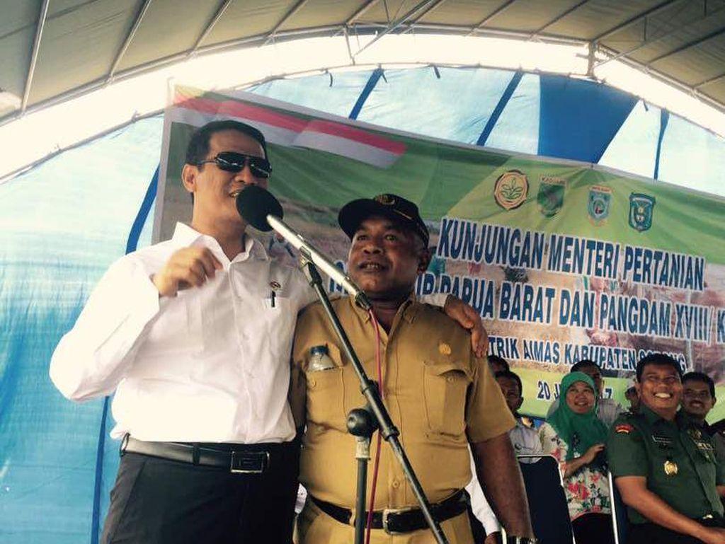 Kementan Dorong Papua Barat Berdaulat Pangan