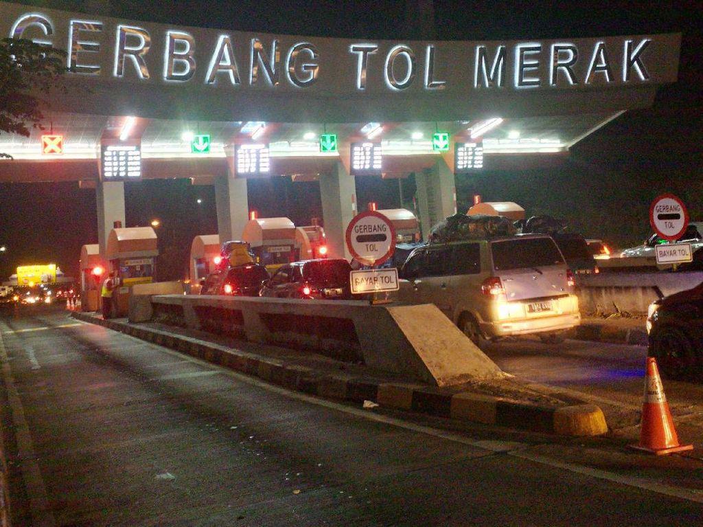 Ini Titik Rawan Kecelakaan di Tol Tangerang-Merak