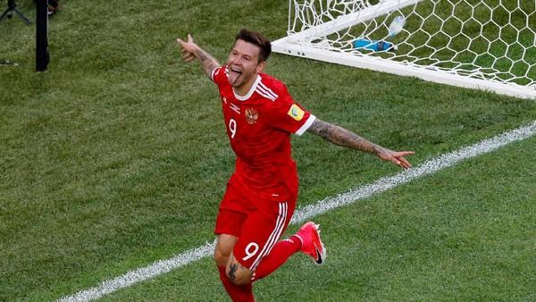 Striker Rusia Ini Ogah Tukaran <i>Jersey</i> dengan Ronaldo