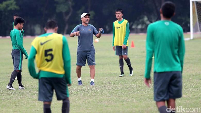Fakhri Cari Pelapis di Pemusatan Latihan Tahap Kedua Timnas U-16