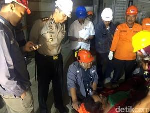 3 dari 7 yang Terjebak di Cerobong Asap PLTU Palabuhanratu Berhasil Dievakuasi