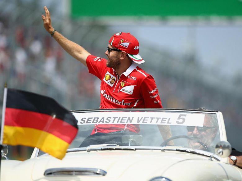 Vettel yang Masih Antijejaring Sosial