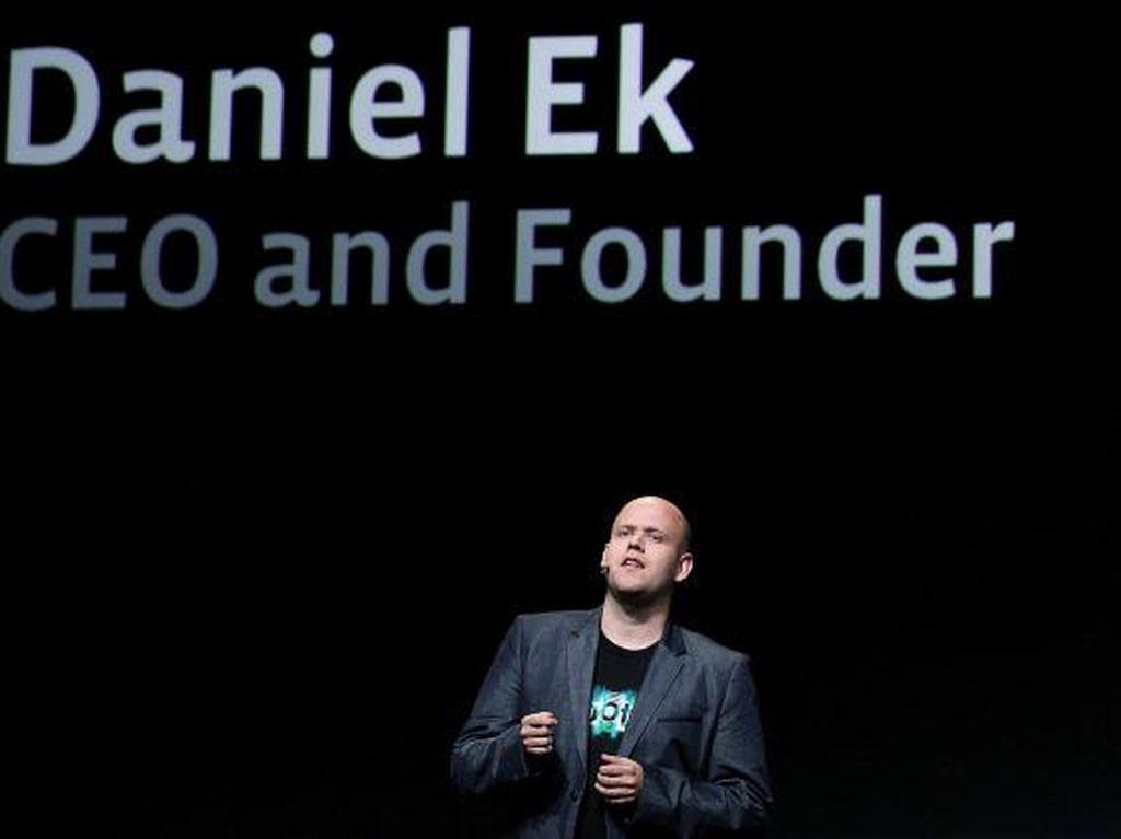 Bos Spotify, Si Kutu Loncat yang Kaya Raya Sejak Muda