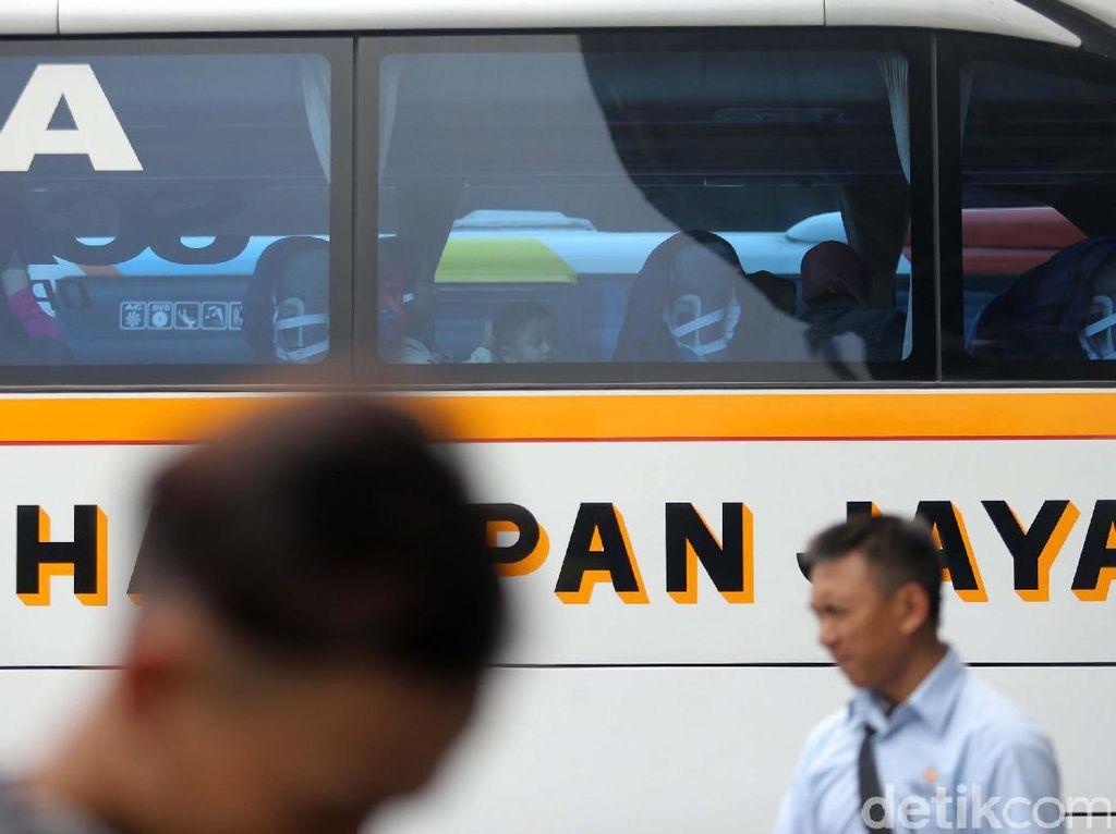 27.610 Pemudik Telah Berangkat dari Terminal Pulo Gebang