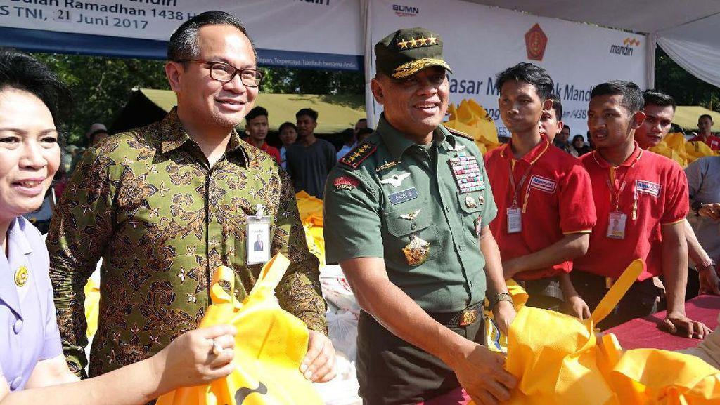 Sembako Murah untuk Anggota TNI/Polri