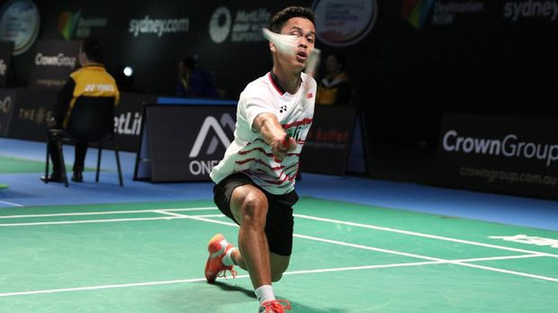Anthony Sinisuka Ginting menjadi tunggal pertama Indonesia.