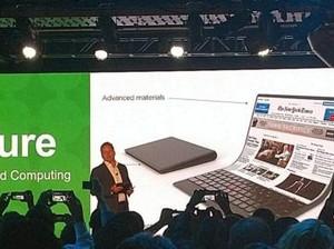 Lenovo Pamer Konsep Laptop Layar Lipat