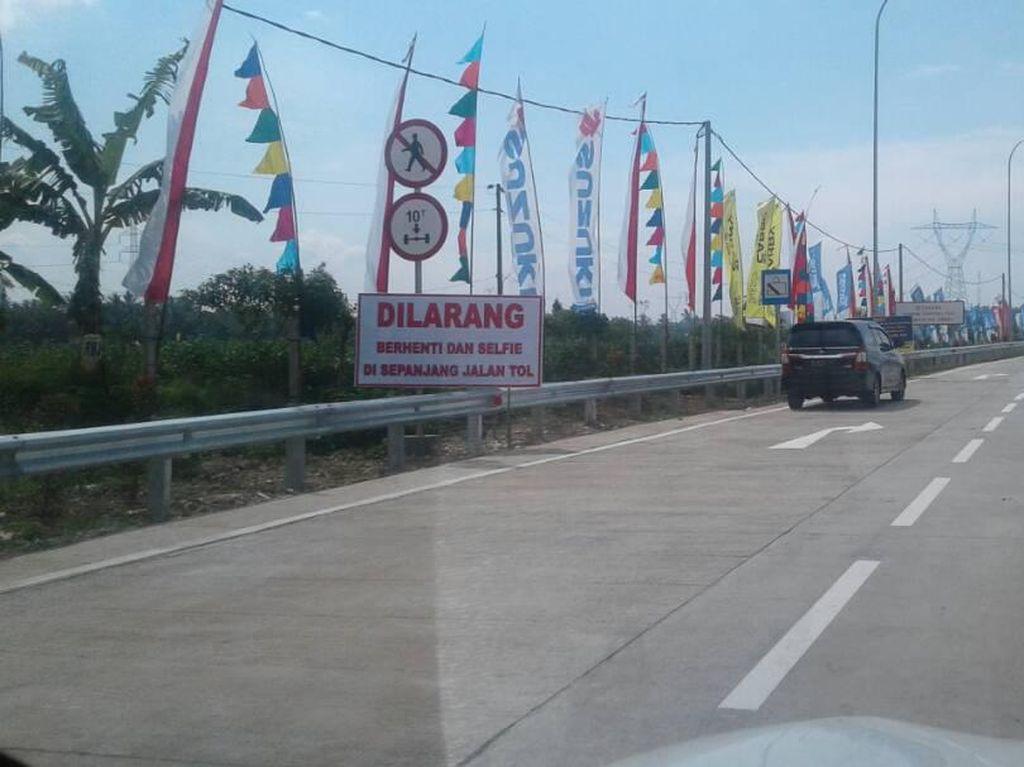 Lewat Jalan Tol Fungsional Jangan Melebihi Batas Kecepatan 40 Km/Jam