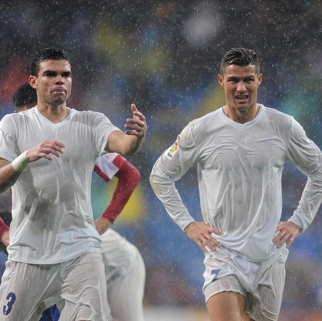 Pepe Soal Ronaldo: Fokus Kami ke Piala Konfederasi