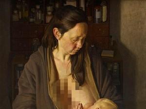 Lukisan Ibu Menyusui Menangkan Penghargaan di London