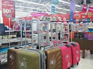 Mudik dan Liburan dengan Diskon Koper Sampai 50% di Transmart