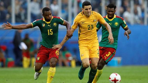 Kamerun vs Australia Berakhir Imbang 1-1