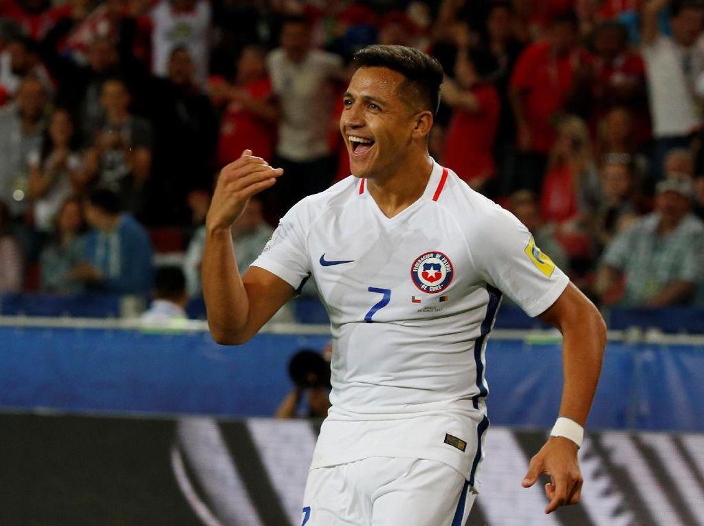 Sanchez Siap Main Lawan Jerman, Bravo Masih Absen