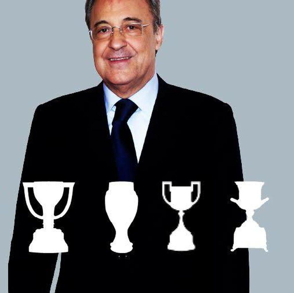 Satu Trofi Perez di Madrid Bernilai Rp 1 triliun