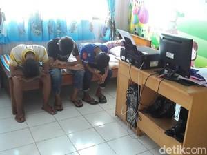 Polisi Amankan 8 Anak Pelempar Bus Malam di Kebumen