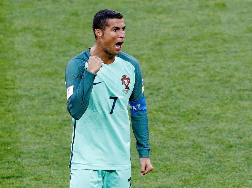 Ronaldo ke Jurnalis: Maaf, Tak Ada Sesi Tanya Jawab!