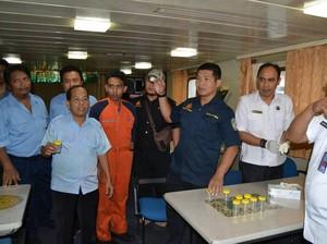 Kru Kapal di Pelabuhan Tanjung Perak Dites Urine