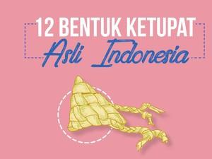Mengenal Bentuk-bentuk Ketupat Tradisional Indonesia