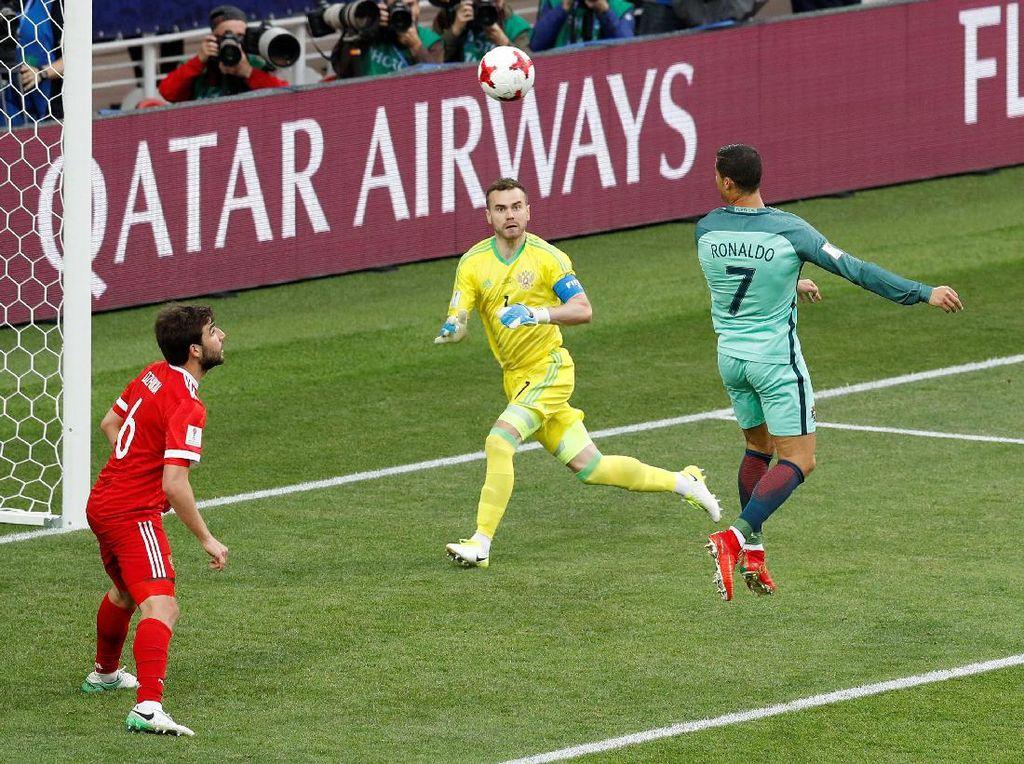 Soal Kekalahan, Pelatih Rusia Sebut-Sebut Ballon dOr Ronaldo