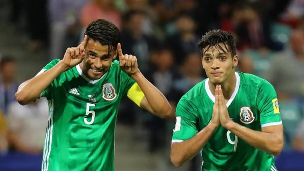 Sempat Tertinggal, Meksiko Kalahkan Selandia Baru 2-1