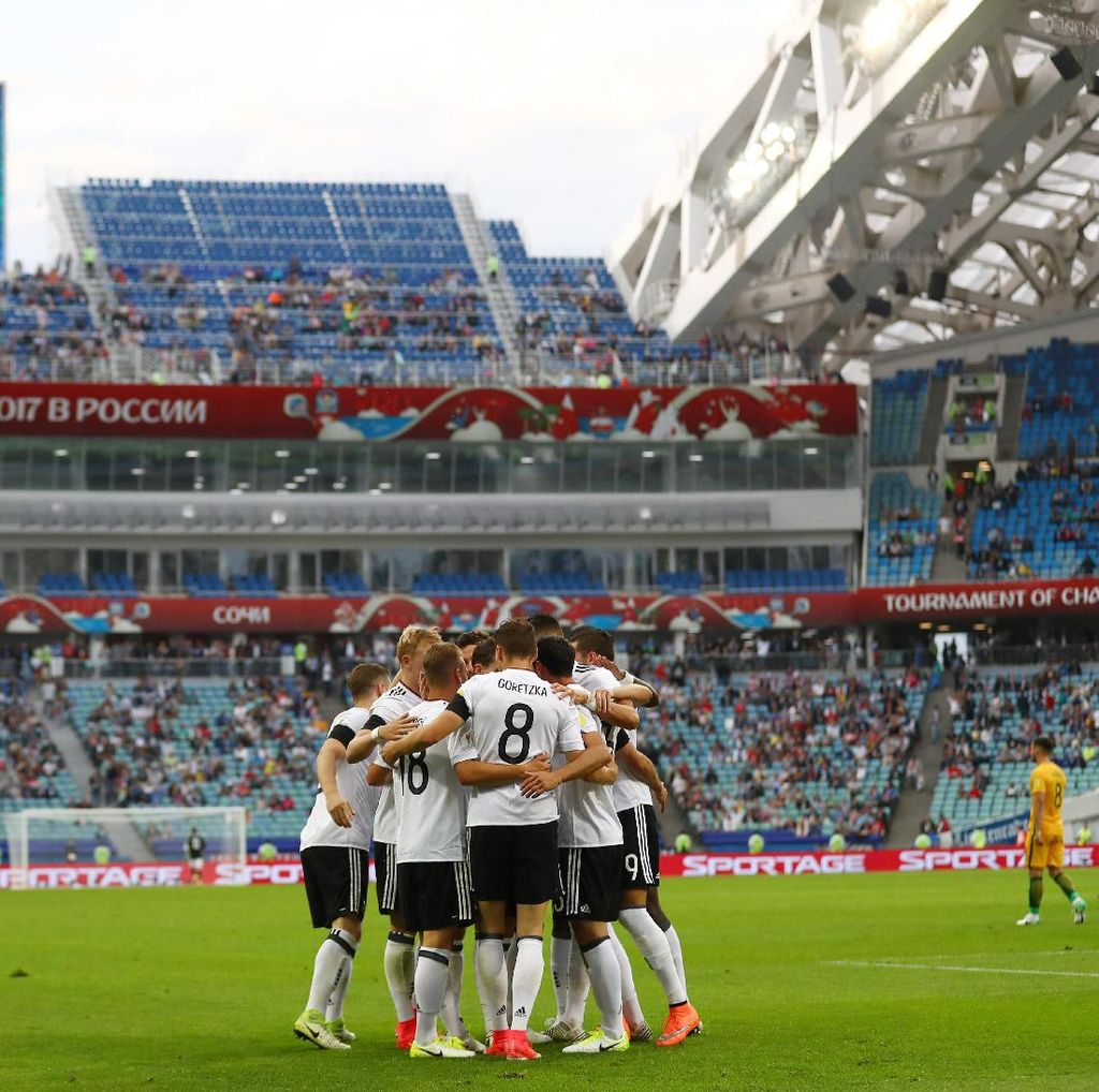 Hadapi Tantangan Besar, Jerman Tetap Akan Rotasi Pemainnya