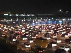 Diprediksi 97 Ribu Kendaraan Lintasi GT Cikarang Utama Menuju DKI
