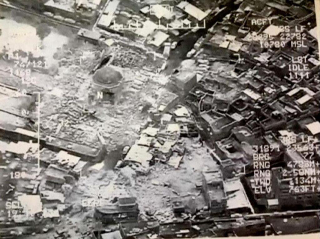 ISIS Hancurkan Masjid Ikonik di Mosul