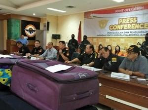 Bea Cukai Soekarno-Hatta Gagalkan Penyelundupan Sabu 1 Kg