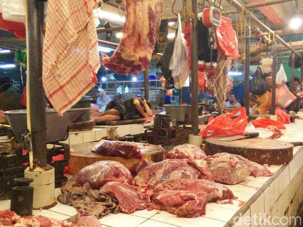 H-3 Lebaran Harga Daging Sapi Tembus Rp 130.000/Kg