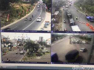 Traffic Update: Lalin Jalur Nagrek dan Cagak Tasikmalaya Macet