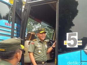 Personel Kodam Siliwangi Antisipasi Penjahat di Jalur Mudik Jabar