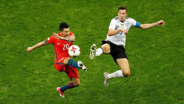 Jerman Ditahan Imbang Chile 1-1