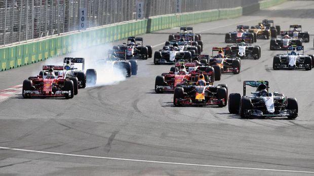 Peserta F1 2017 mengalami penurunan dibanding 2016.