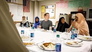 Bos Facebook Buka Puasa Bareng Pengungsi Somalia
