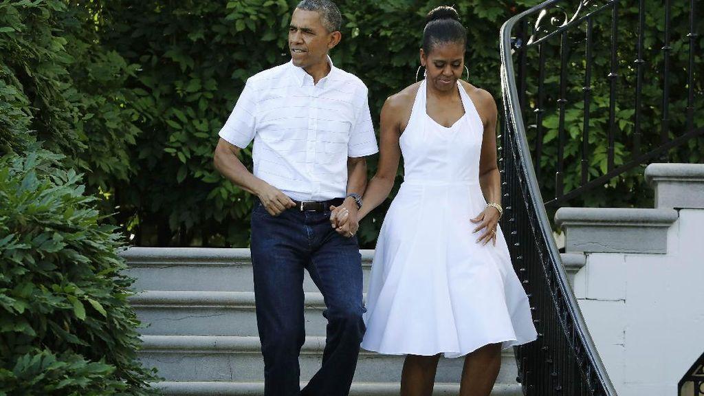 Obama Liburan di Bali, Turis Asing Heboh di Medsos