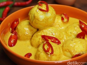 Ini Cara Bikin Gulai Telur yang Gurih Enak untuk Teman Makan Ketupat!