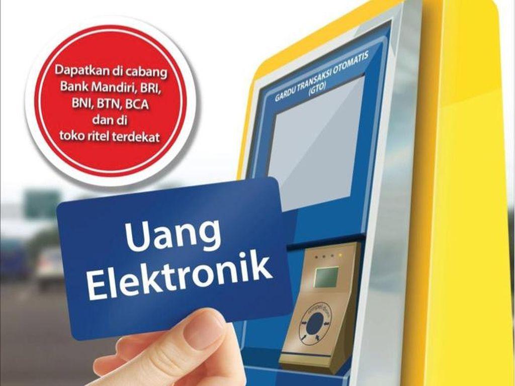 Mulai Oktober 2017, Bayar Tol Hanya dengan Uang Elektronik