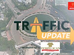 Traffic Update: Simpang Lima Semarang Macet, Ampera Palembang Lancar