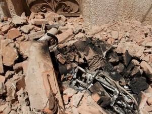 Penampakan Lokasi Pelaku Teror Masjidil Haram Meledakkan Diri