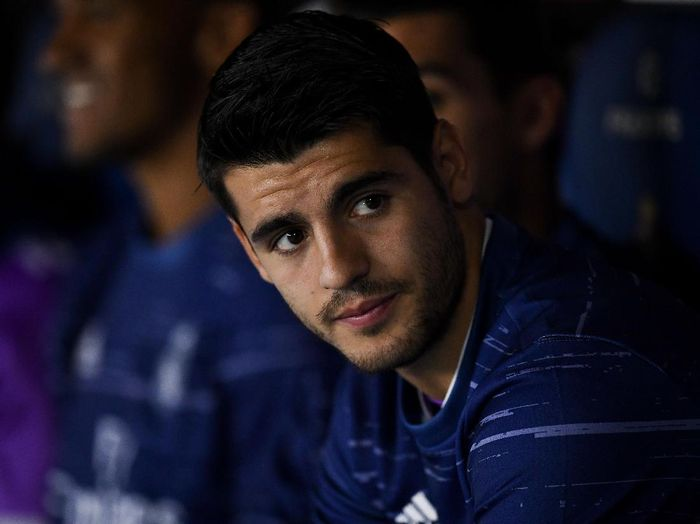 Pemain depan timnas Spanyol, Alvaro Morata. (Foto: David Ramos/Getty Images)