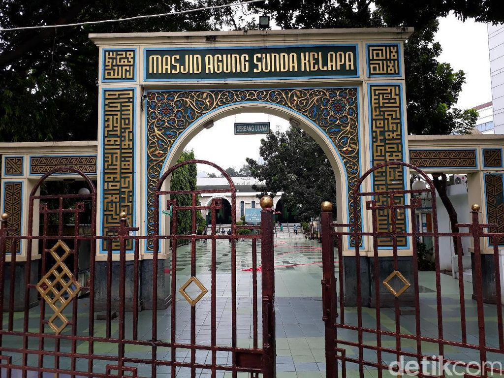 Begini Persiapan Masjid Sunda Kelapa Sambut Anies-Sandi