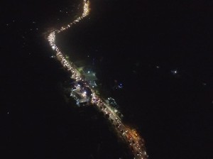 H-1 Lebaran Jalur Selatan Nagreg Macet karena Antrean Kendaraan