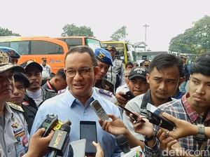Anies ke Sopir Bus Terminal Kampung Rambutan: Utamakan Keselamatan